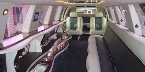 Escalade Limousine - Interior