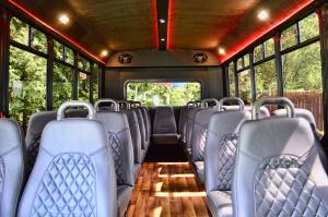 Executive-Limousine Bus - 25 Passenger - Interior