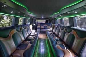 Custom Built Hummer H2 Limousine 19-Passenger - Interior 2