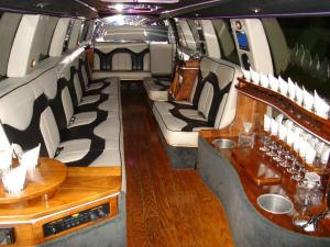 White Diamond Limousine - Interior